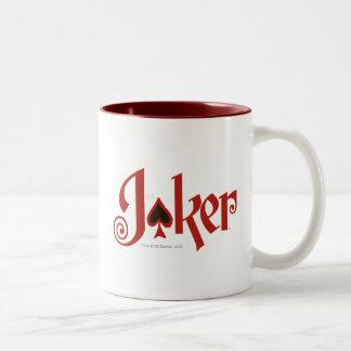 The Joker Playing Card Logo Two-Tone Mug