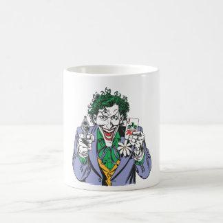 The Joker Points Gun Basic White Mug