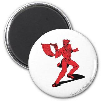 The Joker Red 6 Cm Round Magnet