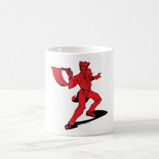 The Joker Red Classic White Coffee Mug