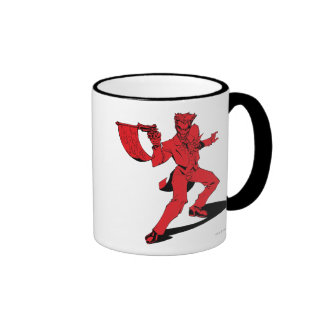 The Joker Red Ringer Mug