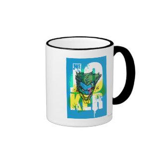 The Joker Spades Ringer Mug