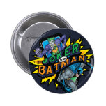 The Joker Vs Batman 6 Cm Round Badge