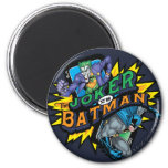The Joker Vs Batman 6 Cm Round Magnet