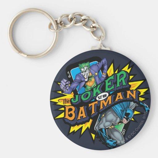 The Joker Vs Batman Key Chains