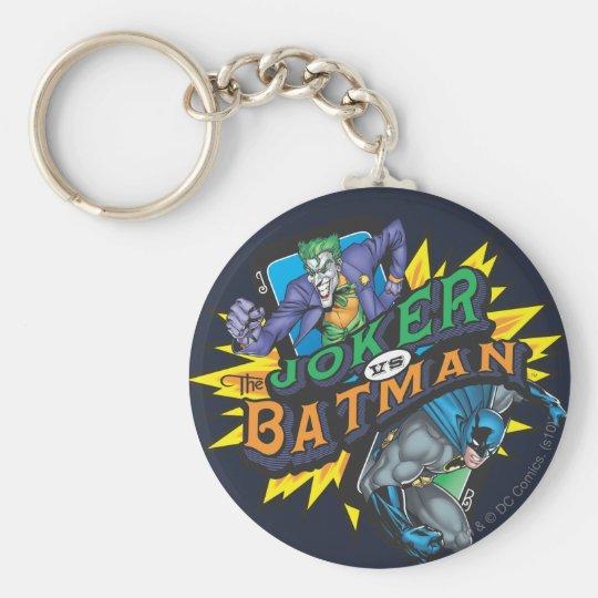 The Joker Vs Batman Key Ring