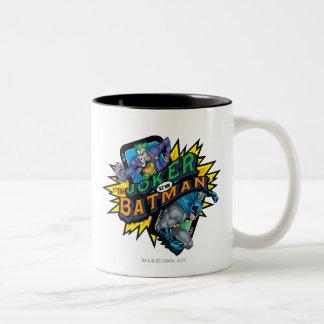 The Joker Vs Batman Two-Tone Mug