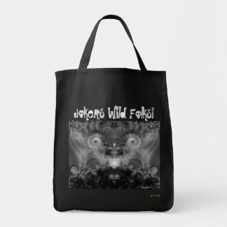 The Joker Wild Folks Tote Bags