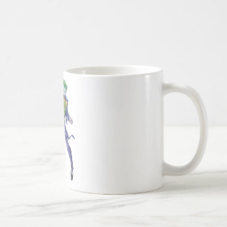 The Joker Yells Basic White Mug