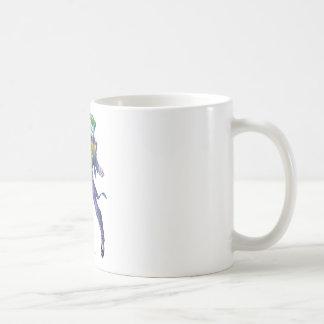 The Joker Yells Classic White Coffee Mug
