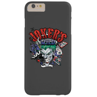 The Joker's Wild Barely There iPhone 6 Plus Case