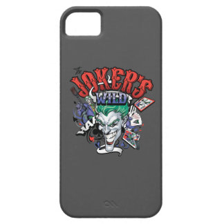 The Joker's Wild Barely There iPhone 5 Case