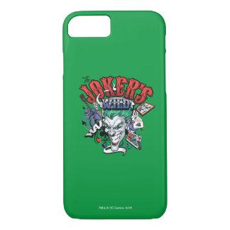 The Joker's Wild iPhone 8/7 Case