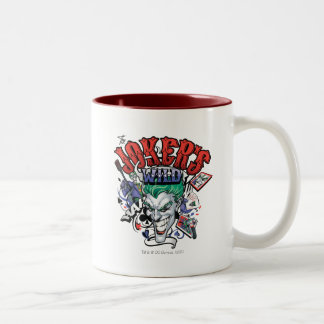 The Joker's Wild Two-Tone Mug