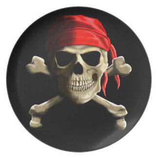 The Jolly Roger Dinner Plate