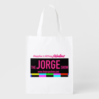 The Jorge Show Re-Usable Tote Reusable Grocery Bags