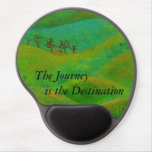 The Journey is the Destination Gel Mouse Mats