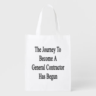 The Journey To Become A General Contractor Has Beg