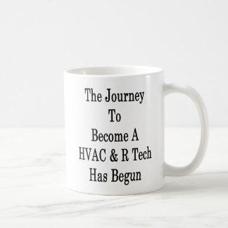 The Journey To Become A HVAC R Tech Has Begun Coffee Mug