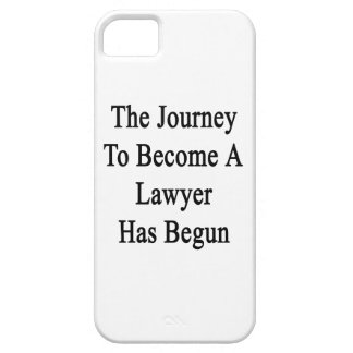 The Journey To Become A Lawyer Has Begun iPhone 5 Covers