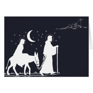 The Journey to Bethlehem Card
