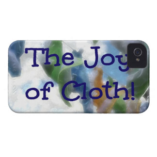The Joy of Cloth! iPhone 4 Case-Mate Case