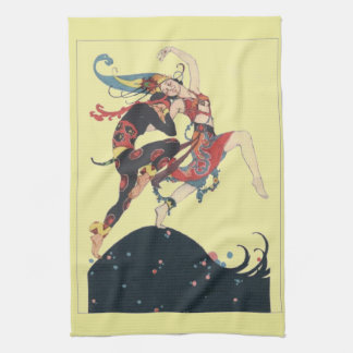 The Joy of Dance Tea Towel