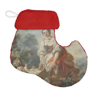 The Joys of Motherhood by Fragonard Elf Christmas Stocking