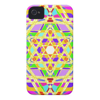 The Judaical vitrail. iPhone 4 Case-Mate Case