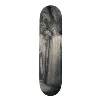 The Judas Kiss Mark 14:45 by Gustave Doré 1866 Skate Boards