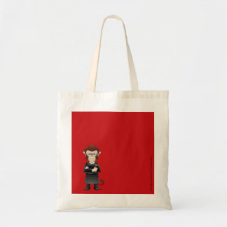 The Judge Drunk Monkey Everyday Economy Tote