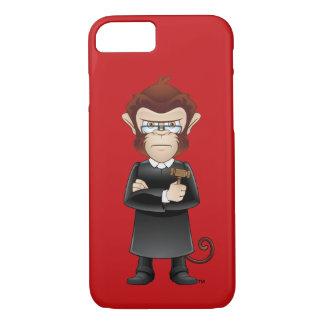 The Judge Drunk Monkey iPhone Case