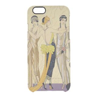 The Judgement of Paris, 1920-30 (pochoir print) Clear iPhone 6/6S Case