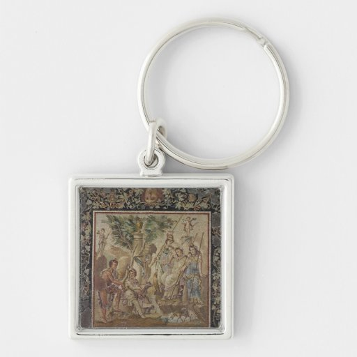 The Judgement of Paris Key Chain