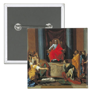 The Judgement of Solomon 1649 Pinback Button