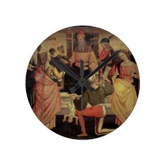 The Judgement of Solomon Round Clocks