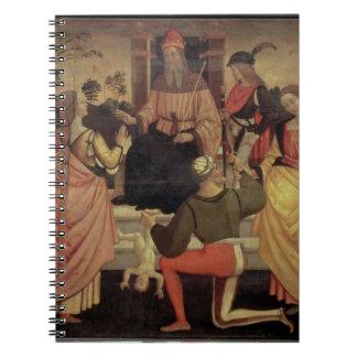 The Judgement of Solomon Spiral Notebook