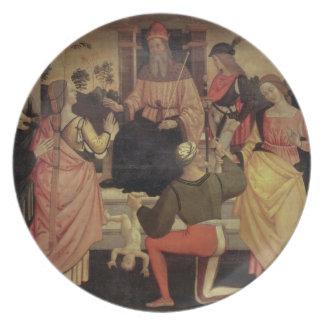 The Judgement of Solomon Party Plates