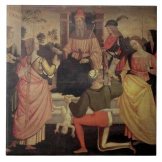The Judgement of Solomon Tiles