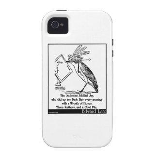 The Judicious Jubilant Jay Vibe iPhone 4 Cases