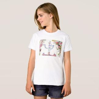 The Juggler girl organic tshirt