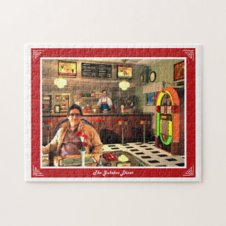 The Jukebox Diner Jigsaw Puzzle