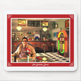 The Jukebox Diner Mouse Pad