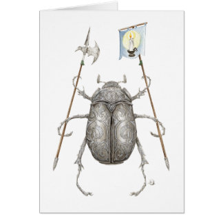 The Junebug Knight Blank Greeting Cards