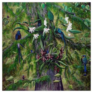 The Jungle of Guatemala fabric