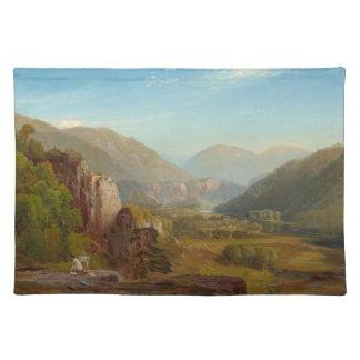 The Juniata River, Pennsylvania by Thomas Moran Placemat