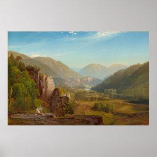 The Juniata River, Pennsylvania by Thomas Moran Poster