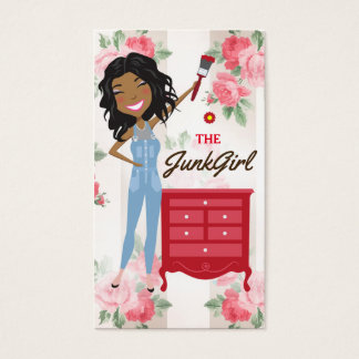The Junk Girl African American Business Card