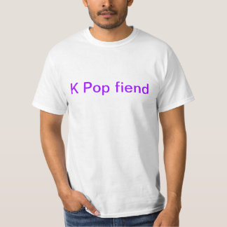 the K stands for Kool T-Shirt