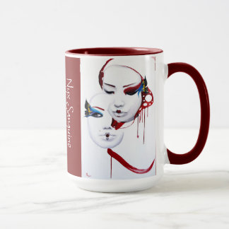 The Kabuki and the Geisha cup